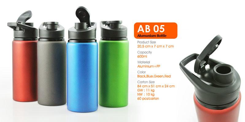 Tumbler Botol Alumunium -  Vizeta | Supplier Merchandise & konveksi Perusahaan Tambang
