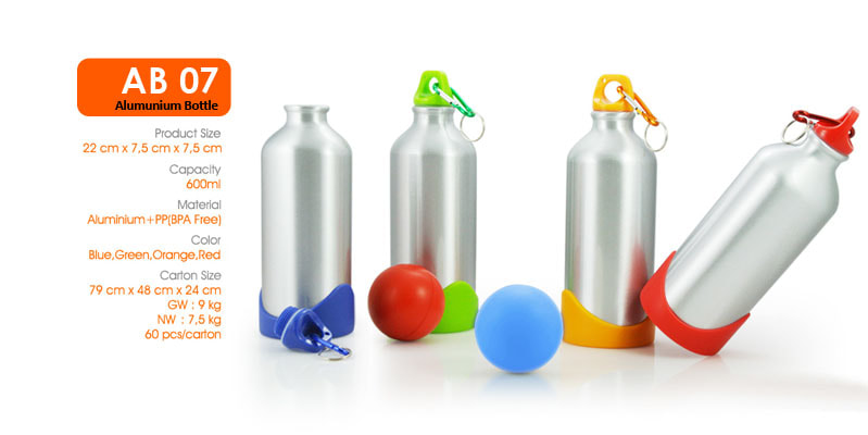 Botol Alumunium, dilengkapi dengan carabiner - Vizeta   Supplier Merchandise & konveksi Perusahaan Tambang -  Vizeta   Supplier Merchandise & konveksi Perusahaan Tambang