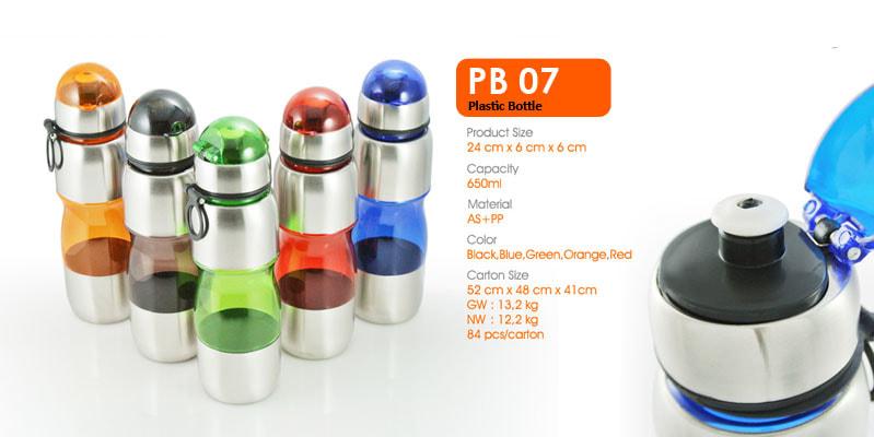 Tumbler Botol Plastik -  Vizeta | Supplier Merchandise & konveksi Perusahaan Tambang