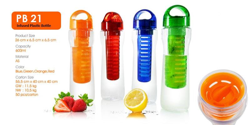 Tumbler Botol Plastik Infuse - Vizeta | Supplier Merchandise & konveksi Perusahaan Tambang -  Vizeta | Supplier Merchandise & konveksi Perusahaan Tambang