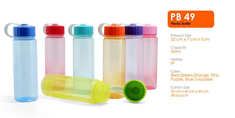 Tumbler Botol Plastik 560 ml -  Vizeta | Supplier Merchandise & konveksi Perusahaan Tambang