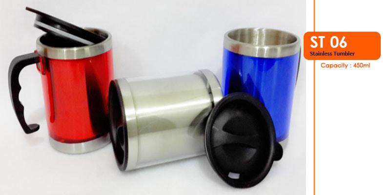 Tumbler Stainless dengan gagang 450 ml - Vizeta | Supplier Merchandise & konveksi Perusahaan Tambang -  Vizeta | Supplier Merchandise & konveksi Perusahaan Tambang